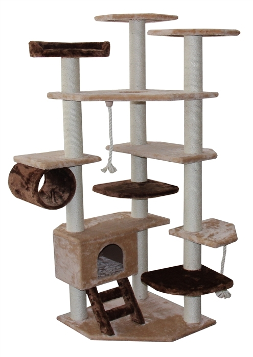 Diy kitty condo on pinterest cat trees cat furniture for Pictures of cat trees