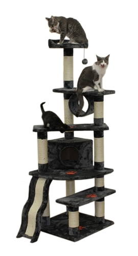 Cat Tree Store Shanghai Gray Cat Tree/Cat Tower/Cat Condo