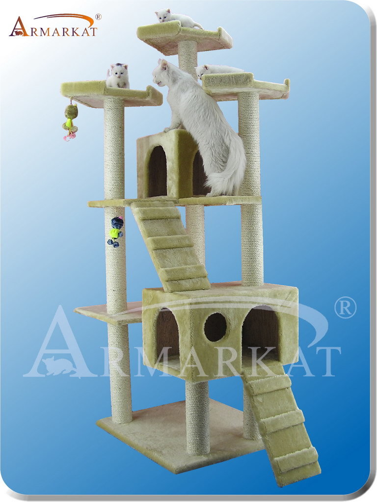 Armarkat A7401 Cat Tree_Cat Condo_Cat Tower